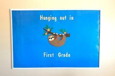 Behavior Bulletin Boards, Frog Bulletin Boards, Kindness Bulletin Board, Reading Bulletin Boards, Back To School Bulletin Boards, Board Decoration, Classroom Themes, Art Wall Kids, Sloth