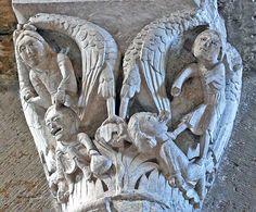 Castigos a la Avaricia y la Calumnia Basilique Ste-Madeleine, Vezelay