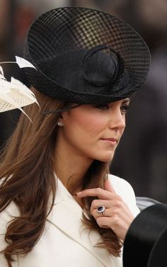 Duchess of Cambridge and a beautiful view of the bling