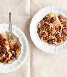Pappardelle with Beef Ragu