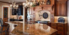 love granite counter tops
