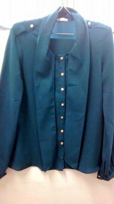 Lolita Retrô: Camisa Azul