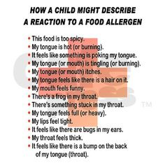 Allergic Reaction Postcards (Package of 8) on CafePress.com