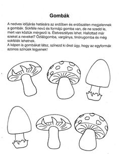Ovisélet : Nyomtatható feladatlapok Preschool Activities, Worksheets, Crafts For Kids, Projects To Try, Diagram, Fall, Autumn, Learning, Children