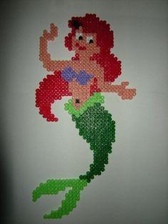 Ariel Disney hama beads by annemieke