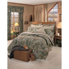 Realtree Advantage Camo Comforter Sets   Cabin and Lodge Bedding   Hunting Decor   Antlers Etc - Rustic Cabin, Lodge & Hunting Decor