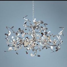 Possini Euro Design Curly Ribbon Pendant   Another Chandelier Idea. 18  Bulbs Though?
