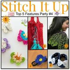 Stitch It Up Link Party #4 The Hooked Haberdasher