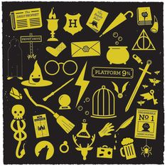 Harry potter clipart motifs