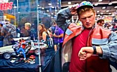Back To The Future Magic Tricks —with Stuart Edge #SDCC2014