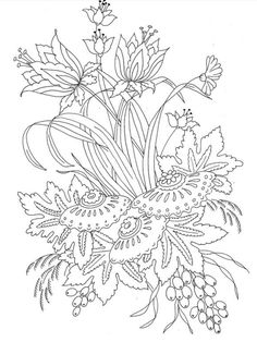 Redoute Flowers Coloring Book Dover Nature Charlene