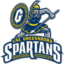 NC-Greensboro Spartans Primary Logo on Chris Creamer's Sports Logos Page - SportsLogos. A virtual museum of sports logos, uniforms and historical items. Currently over on display for your viewing pleasure Unc Greensboro, Greensboro North Carolina, University Of North Carolina, Perfect Cover Letter, Team Mascots, Mascot Design, American Sports, Cool Logo, E Design