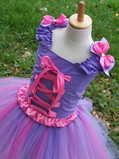 Rapunzel Tangled Princess Boutique Corset and Tutu dress SET sizes 12 months 18 2t 3t 4t 5t 6 girls