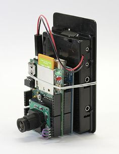 Internet of Things Camera - this uses a regular sized SD card with build in Wifi ! The Eye-Fi.