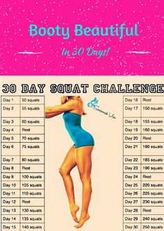 Booty Beautiful in 30 Days!!! Anyone who does this workout can expect a sore butt and legs the next day. If you do this workout consistently and follow a great diet and cardio plan, you can expect to shape beautiful streamlined, athletic-looking butt, legs and thighs!