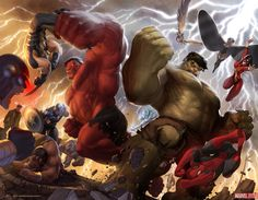 Hulk by Marko Djurdjevic