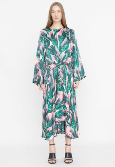 Rodebjer Cati Seaflower Skirt Kimono Top, Dresses With Sleeves, Long Sleeve, Skirts, Fashion, Dress, Moda, Sleeve Dresses, Skirt