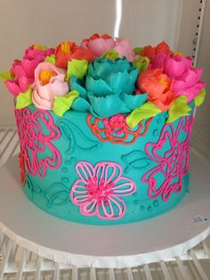 Lovely buttercream Cake!
