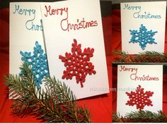 Christmes card by Niezapominajkinet on Etsy