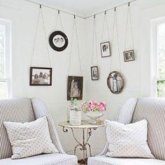 Hanging photos = awesome.