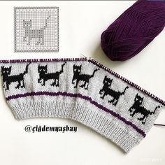 Özel's media content and analytics Baby Boy Knitting Patterns, Knitting Machine Patterns, Baby Hats Knitting, Fair Isle Knitting, Knitting Charts, Knitting Stitches, Knit Patterns, Hand Knitting, Knitted Hats