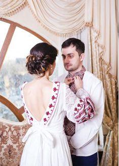 Свадебный наряд в национальном стиле СВ 1504