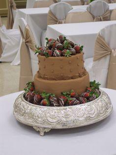 Chocolate Grooms Cake With Strawberries | Strawberries & Chocolate