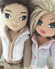 Happy couple in their new clothes #crochet#crochetdoll##crochetdollclothes#customdoll #amigurumiclothes #handmade #dollclothes #amigurumi#amigurumidoll#handmadedoll #doll #crochet #crochetersofinstagram #crocheted #crochetboy #crochetgirl #amigurumi #amigurumidoll
