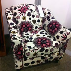 Chair we got today for our living room! Im so obsessed.  Nebraska Furniture Mart home-sweet-home