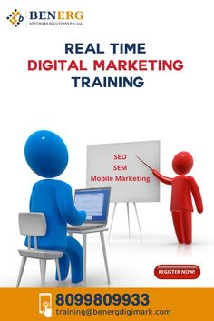 BenErg Software Solutions Provides Digital Marketing Training in ‪#‎Hyderabad‬ which includes ‪#‎SEO‬, ‪#‎SEM‬, ‪#‎SMM‬, ‪#‎SMO‬,  Call for More Details :-   Mobile:- 8099809933  Mail:- training@benergdigimark.com web:- www.benergdigimark.com