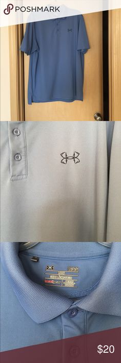 Under Armour Polo Men's size Large. Used condition. See photos Under Armour Shirts Polos