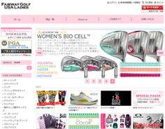 かわいい海外ゴルフブランドは【フェアウェイゴルフUSAレディース】|『おじゃまショップサイト -ojama shop site-』