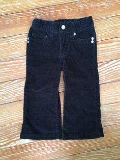 Sonoma 2T black corduroy pants