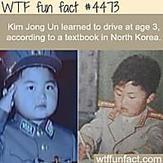 "Kim Jong Un ""facts"" - WTF fun facts"