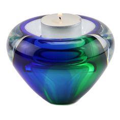 Kristalglazen Miniurn met Waxinelichtje (0.04 liter)
