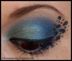 Kreatives Augen-Make-up