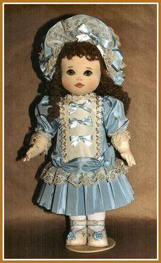 Marianne  Cloth Doll Pattern by Kezi Matthews