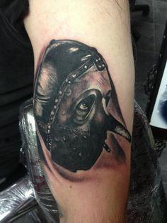 Slipknot Tattoo by Craig Harris, Frostbite Tattoo, NZ