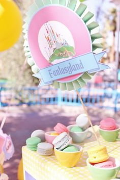 Disneyland Birthday Party Ideas | Photo 22 of 76 | Catch My Party
