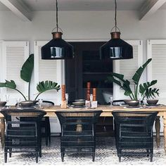 This dining room! Designed by @douglas_and_douglas in South Africa  via @african_trading_port