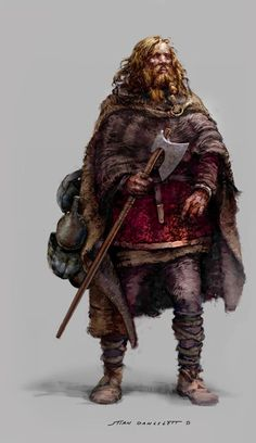 8 Lessons From Viking Warriors (Part 1 of The Vikings were regarded as one of the most savage warriors who would sacrifice their life to raiding and pillaging. In the eyes of the victims, the Vikings were the real monsters. Viking Warrior, Viking Art, Viking Woman, Dungeons And Dragons Characters, Fantasy Characters, Fantasy Armor, Medieval Fantasy, Character Portraits, Character Art