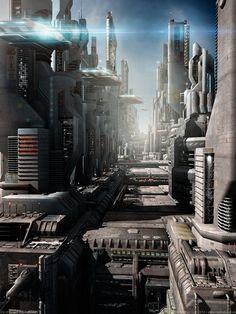 City of Gaia | The Followers by MarkusVogt on deviantART [Futuristic Architecture: http://futuristicnews.com/category/future-architecture/]