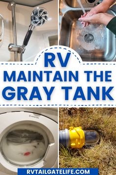 It's the other RV waste tank - the RV gray tank! Tips and tricks for maintaining the RV gray tank to keep it from smelling or backing up. Because it is not just the black tank that will give you problems! And you don't have an easy back flush system (well, the really awesome high end Class A motorhomes might, but not the rest of us with regular motorhomes, travel trailers, and fifth wheels).