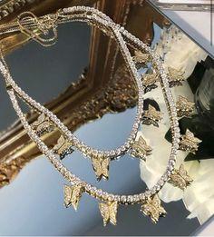 Cute Jewelry, Bridal Jewelry, Jewelry Accessories, Jewelry Necklaces, Jewelry Design, Jewlery, Butterfly Jewelry, Butterfly Necklace, Diamond Cross Necklaces