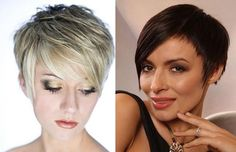 No complexes . Which fashionable short female haircuts to choose: many photo ideas Names Of Haircuts, Hot Haircuts, Trendy Haircuts, Short Hairstyles For Women, Straight Hairstyles, Short Hair Cuts For Women, Short Hair Styles, Pixie, Stylish Hair