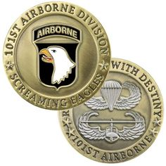 101st Airborne Coin | Medals of America (For B to commemorate Grandpa)