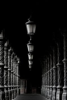 ☾ Midnight Dreams ☽ dreamy & dramatic black and white photography - Licht und Schatten by Söckchen