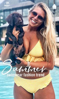 09996449aa Oh~~~Pet and swimsuits look so good! #CUPSHE #SWIMSUIT #