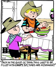 Dennis the Menace Cartoon for Sep/09/2014