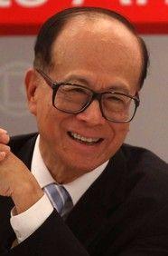Li Ka-shing - Hong Kong BOSS! Had the pleasure of working for him.